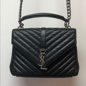 Authentic YSL bag Leather